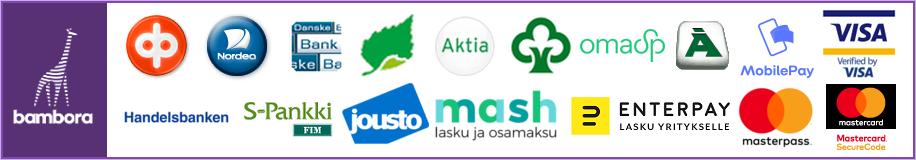 Bambora payment logos